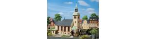 Kostel Börnichen, H0/TT, Auhagen 12229