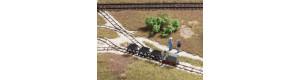 Set polní drážky, atrapa, H0, Auhagen 41700