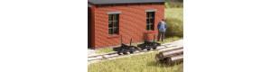 Oplenové vozíky, atrapa, 3 kusy, H0, Auhagen 41707