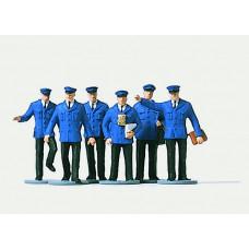 Sada figurek železničních zaměstnanců, TT, Merten 2529