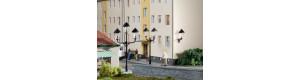 Parkové a nástěnné lucerny, atrapy, TT/H0, Auhagen 42631