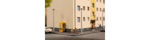 Atrapy lamp, 8 kusů, H0, Auhagen 41661