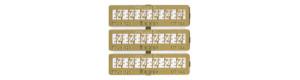 Lepty konzol se 2 izolátory pro telegrafní vedení, TT, Miniatur MTL14a