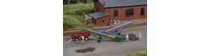 Pásové dopravníky, 2 kusy, N, Auhagen 44640