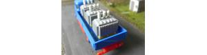 Paleta ložená transformátorem, TT/H0, ES Pečky 65043