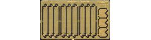 Stavebnice protitankových ježků z leptu, Hauler HTT120033