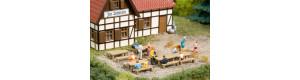 Lavičky a stoly, N, Auhagen 44650
