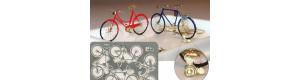 Stavebnice jízdního kola z leptaného plechu, 4 kusy, TT, Hauler HTT120063