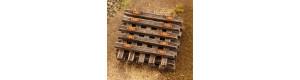 Staré pražce dřevěné, N, Model Scene 46502