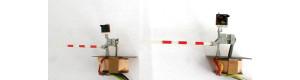 Stavebnice - leptané závory typu AŽD, TT, Cekul TT21