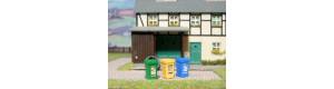 Popelnice na tříděný odpad, H0, ES Pečky 23339