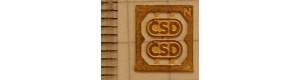 Logo ČSD na lokomotivy, 80. léta, 2 kusy, N, Lepieš N005