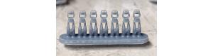 Světla elektro/petrolej pro SMD LED 0603, sada 7 kusů, TT, MFL L0024