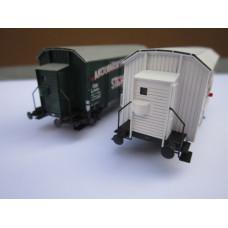 Stavebnice brzdařské budky pro vozy Lp a Z, TT, DK model TT0906