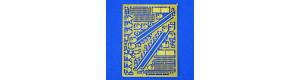 Mříže a kování skříně Zl, H0, Lepieš H017