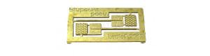 Stupačky pro posunovače (Bardotka), H0, Lepieš H075