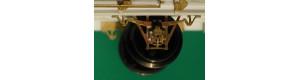 Rozsochy pojezdu kované včetně ložisek, pružnic a koníků, 4 kusy, TT, Lepieš 03