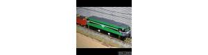 Stavebnice lokomotivy 753.6 CZ LOKO, včetně obtisků SD KD 753 601-4, TT, DH Loko DH1207536O3