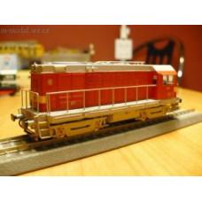 Leptaná stavebnice lokomotivy T 435.0 v provedení II. série s pensylvánskými podvozky, TT, Hekttor 12054