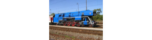 """Stavebnice parní lokomotivy řady 477.0, 1. série, """"Papoušek"""", bez pojezdu, TT, DK model TT0103"""