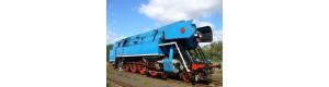 """Stavebnice parní lokomotivy řady 477.0, 2. série, """"Papoušek"""", bez pojezdu, TT, DK model TT0105"""