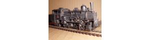 Parní ozubnicová lokomotiva ř. 404.0, H0, DK model H00100
