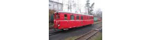 Stavebnice úzkorozchodného motorového vozu M21.004, H0e, DK model 0741