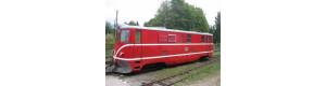 Stavebnice, úzkorozchodná lokomotiva řady TU 47, 1. serie, N, DK model N0721