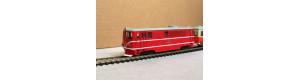 Stavebnice, úzkorozchodná lokomotiva řady TU 47, 2. serie, N, DK model N0722