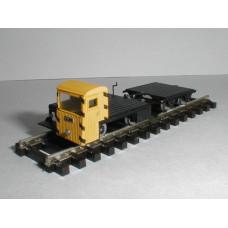 Stavebnice - Drezína TATRA Vm + přívěsný vozík, TT, DK model TT0800