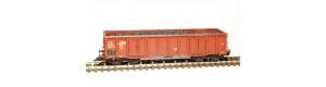 Stavebnice otevřeného vozu Eas-u 52, ČSD, IV. epocha, TT, SDV 12033