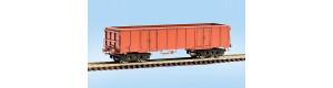 Stavebnice otevřeného nákladního vozu Eas, základ, TT, Malá železnice 25018.51