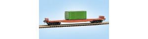 Stavebnice kontejnerového vozu Sgs, základ, TT, Malá železnice 25039.51