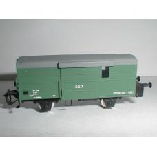 Stavebnice úzkorozchodného služebního /brzdícího/ vozu D/ú, TTe, DK model TTe0770