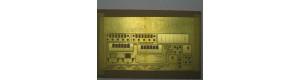 """Stavebnice - Úzkorozchodný osobní vůz BCi/ú 701 """"šestiokeňák"""", TTe, DK model TTe0753"""