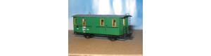 Stavebnice - Úzkorozchodný poštovní vůz se služebním oddílem DF/ú 651, TTe, DK model TTe0772