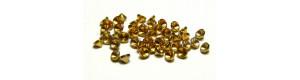 Mosazná pouzdra pro uložení dvojkolí, 20 kusů, N, PEHO N011