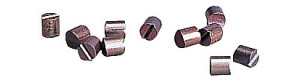 Uhlíky pro motorky Tillig (kostka), 10 kusů, TT, Tillig 08876