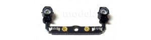 Díl s čelními svítilnami (teple bílé LED) na BR 56, TT, Tillig 203514