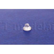 Čočka do plynové svítilny pro parní loko, plastový výlisek, TT, Tillig 303687
