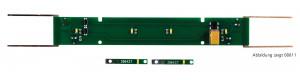 Osvětlení pro úzkorozchodné osobní vozy, 7 a 8 oken o délce 167 mm, H0e/m, Tillig 08813