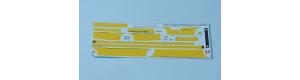 Obtisková sada – LC735 ČSAD (žluté pruhy), H0, MojeTT MTT087203