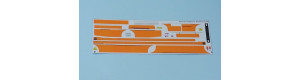 Obtisková sada – LC735 ČSAD (oranžové pruhy), H0, MojeTT MTT087204