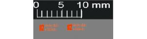 Obtisky, logo Stavby silnic a železnic, 2 kusy, výška 3 mm, nové provedení, TT, Štěpnička D037