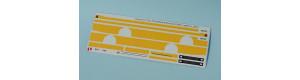 Obtisková sada – LC735 s žlutými pruhy, TT, MojeTT 120203