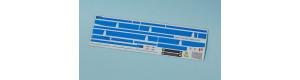 Obtisková sada – C744 s modrými pruhy, TT, MojeTT 120213