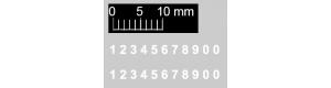 Čísla na vojenskou techniku - 2,5 mm, TT, Štěpnička D010