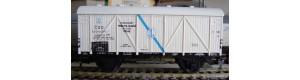 Obtisky Lff - 2-n. pro prámovou přepravu (50.-60. léta) černý popis, Masný průmysl, TT, Jiran 091