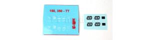 Obtisky pro el. loko 150/350, TT, DK model TTX01