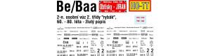 Obtisky Be/Baa - rybák 60. - 80. léta, TT, Jiran 195